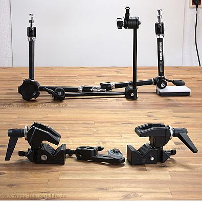 manfrotto arme und superclamp test