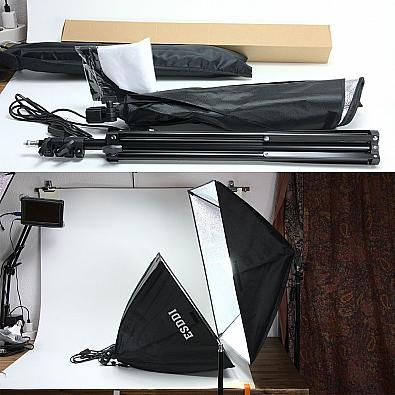 ESDDI LED Softbox im Test